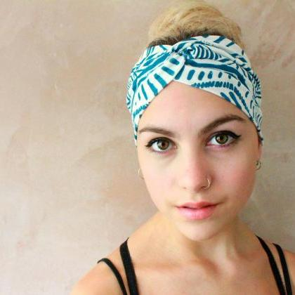 2 in 1 Turban Headband, Yoga Headba..