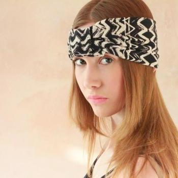 Workout headband, Turban Headband, Fabric Headband, Boho Headband, Hippie Headband, Yoga Headband, Exercise headband